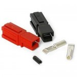 15 Amp Unassembled Red/Black Anderson Powerpole Connectors (10 sets)