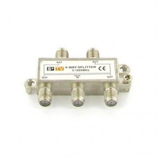 4-Way TV Coax Cable Splitter 1Ghz