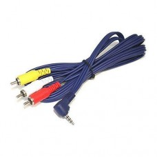 6  Camcorder to TV Mini A/V Cable for Sony JVC Canon Panasonic SamsungAdapters