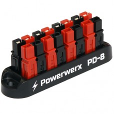8-Position Power Distribution Block for 15/30/45A Anderson Powerpole Connectors