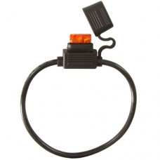 ATC/ATO Inline Fuse Holder (Gauge: 10, Color: Black)