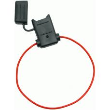 ATC/ATO Inline Fuse Holder (Gauge: 18, Color: Red)