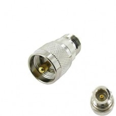 N Female to UHF Male Coax Cable Adapter