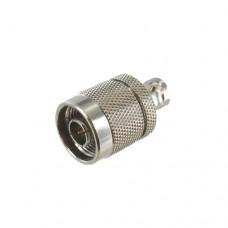 N Male to BNC Female Coax Adapter