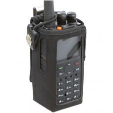 Powerwerx CSC-868 Heavy Duty Nylon Windowed Radio Case with Stainless Belt Clip for Anytone AT-D868UV & AT-D878UV