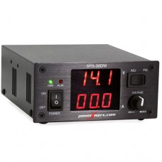 Powerwerx Variable 30 Amp Desktop DC Power Supply with Digital Meters