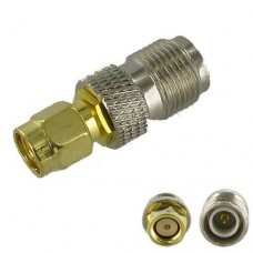 RP-SMA Male to RP-TNC Female RF Coax Cable Adapter
