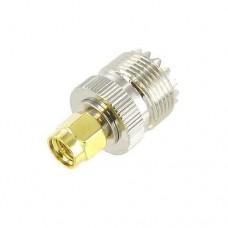 SMA Male to UHF Female RF Adapter