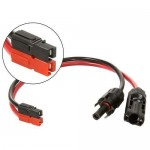 Solar Power MC4 to Anderson Powerpole Connector Adapter Cable