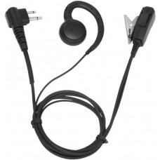 TERA GHK-50 Comfortable G-Hook Lapel Microphone