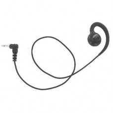 Valley Earloop Earpiece Audio Only for Two-Way Radios Braided Cloth 3.5mm 16 inch length