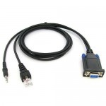 Yaesu Combination Mobile 8-pin CT-104 and Portable Radio Programming Cable